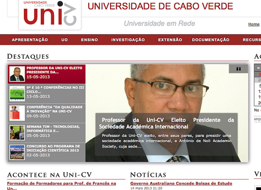 President at CV univ