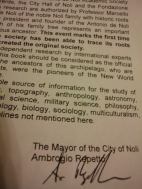 Ambrogio Repetto's signed foreword