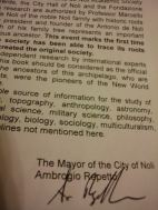 Ambrogio Repetto's signed foreword